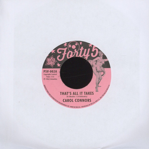 Carol Connors - That's All It Takes