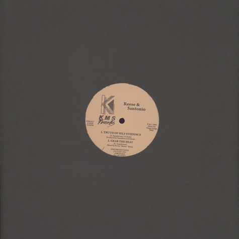 Reese (Kevin Saunderson) & Santonio - The Truth Of Self Evidence