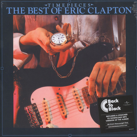 Eric Clapton - Timepieces: The Best Of Eric Clapton Back To Black Edition