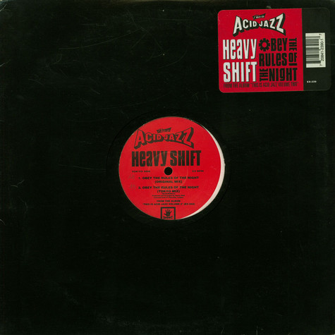Heavyshift - Obey The Rules Of The Night