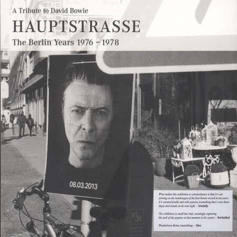 Egbert Baque - A Tribute To David Bowie - Hauptstrasse: The Berlin Years 1976-1978