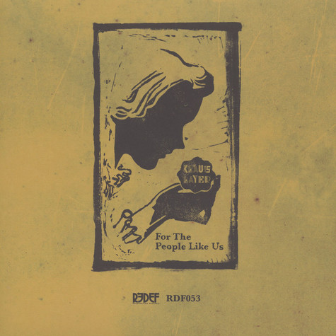 Klaus Layer - For The People Like Us Black Vinyl Edition