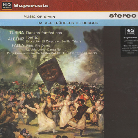 Frühbeck De Burgos / Paris Conservatoire Orchestra - Music Of Spain
