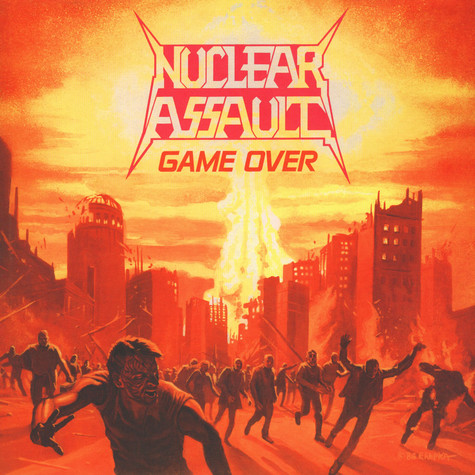 Nuclear Assault - Game Over Colored Vinyl Edition