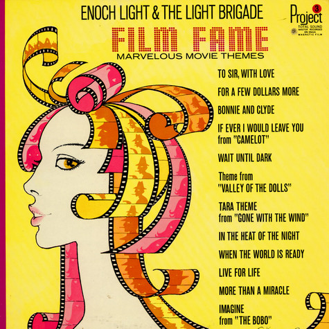 Enoch Light And The Light Brigade - Film Fame - Marvelous Movie Themes