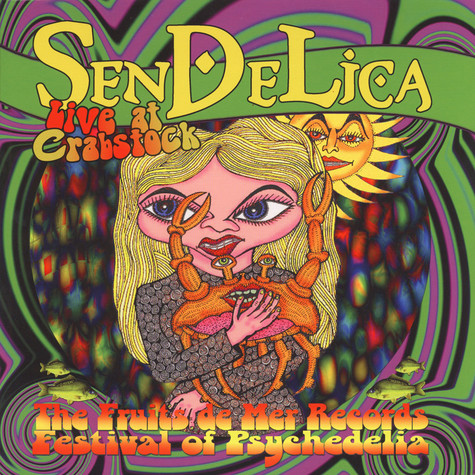 Sendelica - Live At Crabstock Colored Vinyl Edition