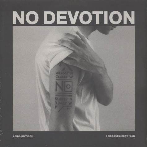 No Devotion - Stay / Eyeshadow Pink Vinyl Edition