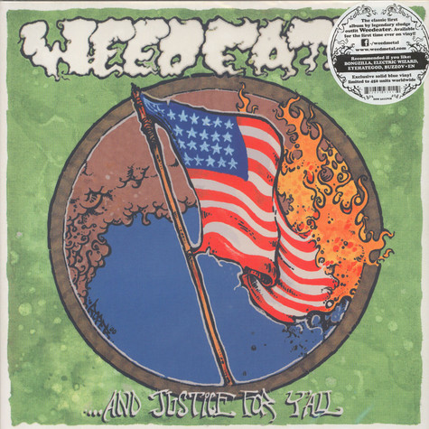 Weedeater - … And Justice For Y'All Blue Vinyl Edition