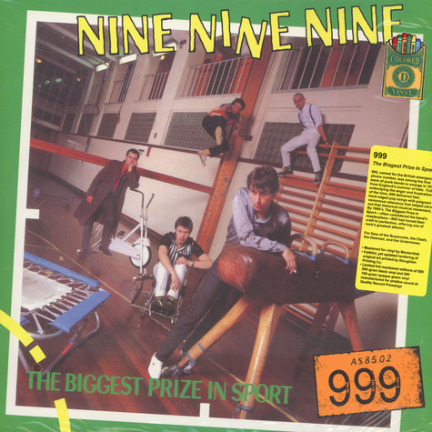 999 - The Biggest Prize In Sport Clored Vinyl Edition