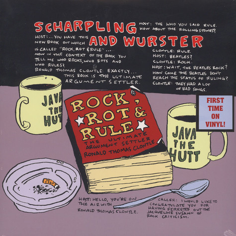 Scharpling & Wurster - Rock, Rot & Rule Black Vinyl Edition