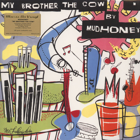 Mudhoney - My Brother The Cow White Vinyl Edition