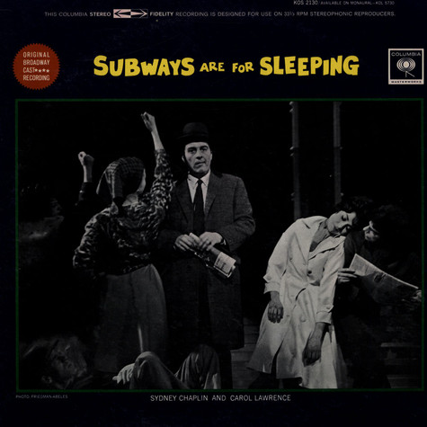 V.A. - Subways Are For Sleeping (Original Broadway Cast Recording)
