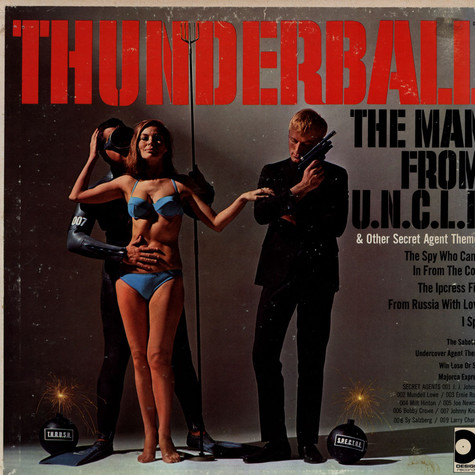 Jazz All-Stars, The - Thunderball & Other Secret Agent Themes