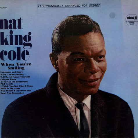 Nat King Cole - When You're Smiling