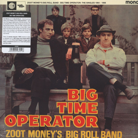 Zoot Money S Big Roll Band Big Time Operators The