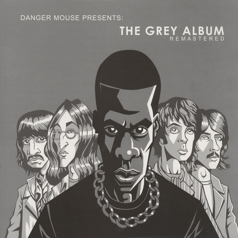 Jay-Z & Dangermouse - The Grey Album Remastered Colored Vinyl Edition