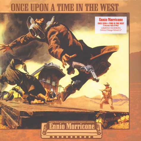 Ennio Morricone - OST C'Era Una Volta Il West (Once Upon A Time In The West) Orange Vinyl Edition