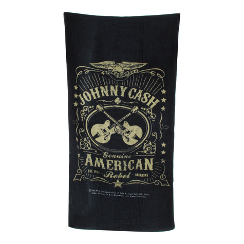Johnny Cash - Label Towel