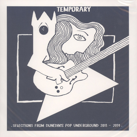 V.A. - Temporary: Selections From Dunedin's Pop Undergound 2011 – 2014