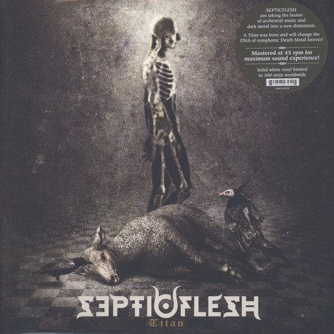 Septicflesh - Titan  White Vinyl Edition