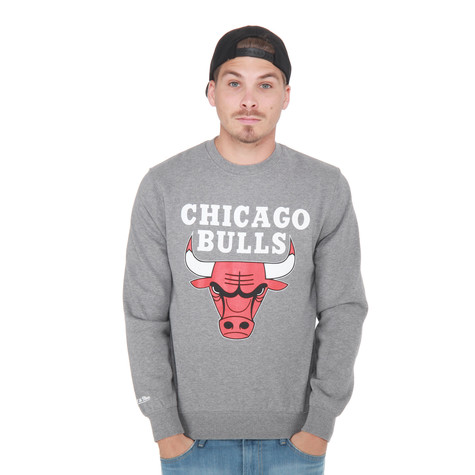 Mitchell & Ness - Chicago Bulls NBA Team Logo Sweater