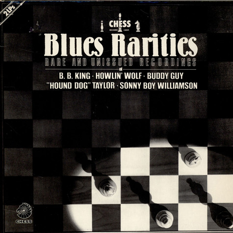 V.A. - Blues Rarities - Rare And Unissued Recordings