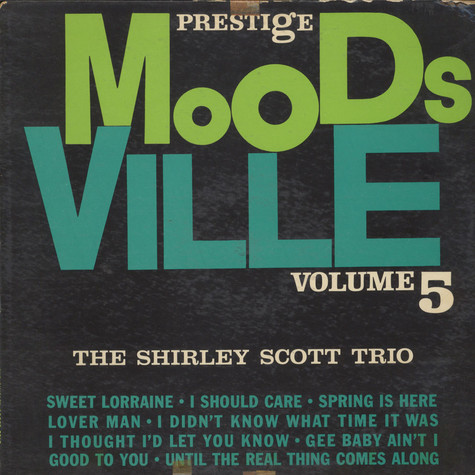 "Red Garland Trio, The + Eddie ""Lockjaw"" Davis - Moodsville Volume 1"