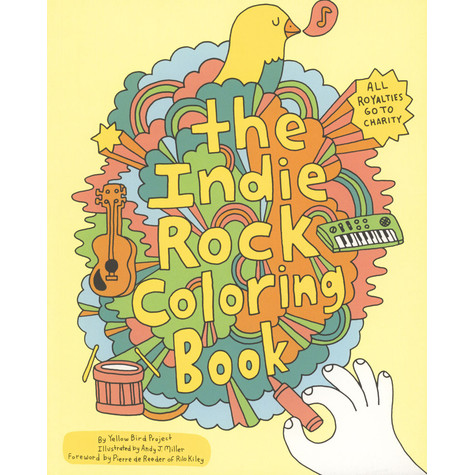 Yellow Bird Project - Indie Rock Coloring Book