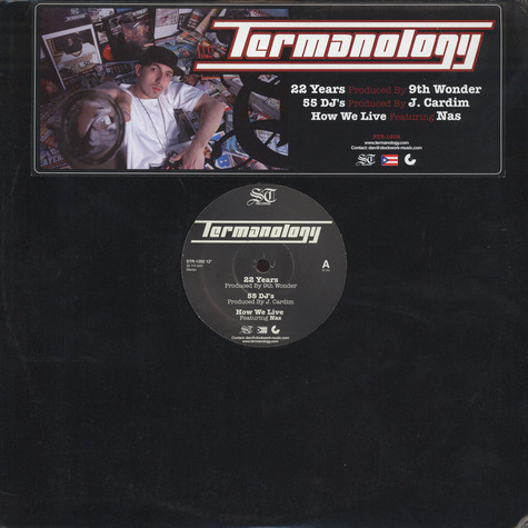 Termanology - 22 Years / 55 DJ's / How We Live
