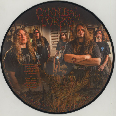 Cannibal Corpse - A Skeletal Domain Picture Disc Edition