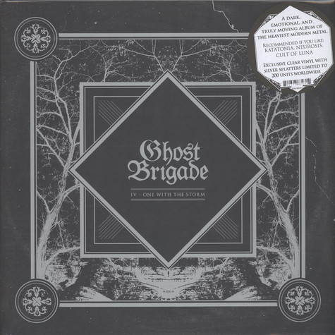 Ghost Brigade - IV: One With The Strom Colored Vinyl Edition