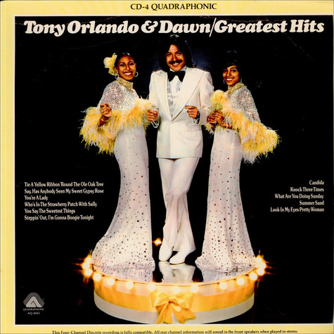 Tony Orlando & Dawn - Greatest Hits