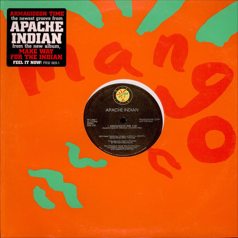 Apache Indian - Armagideon Time