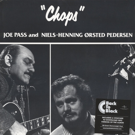 Joe Pass / Niels-Henning Orsted Pedersen - Chops Back To Black Edition
