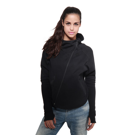 5929ff1465b8 Nike - WMNS Tech Fleece Butterfly Hoodie (Black   Black)