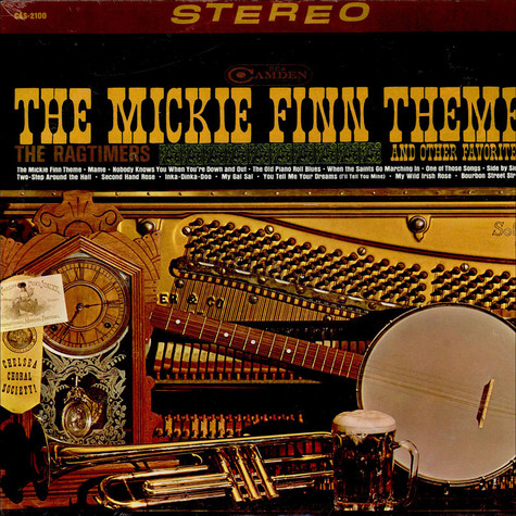 Ragtimers, The - The Mickie Finn Theme And Other Favorites