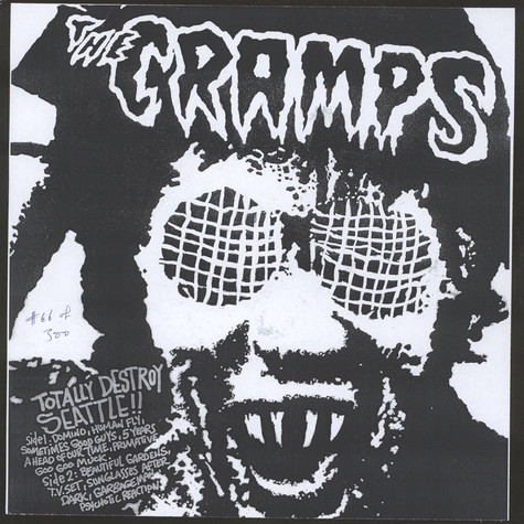 Cramps, The - Totally Destroy Seattle