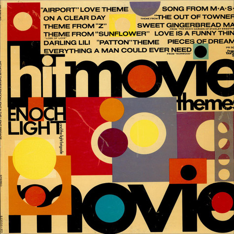 Enoch Light And The Light Brigade - Hit Movie Themes