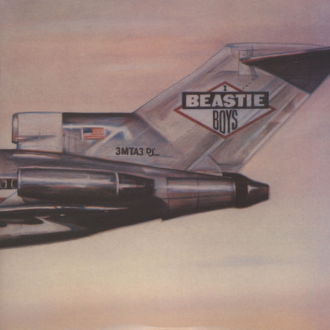 Beastie Boys - Licensed To Ill Colored Vinyl Edition