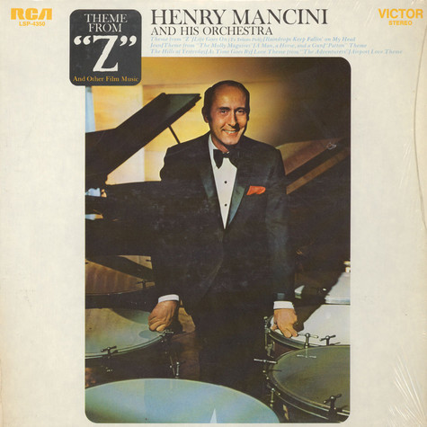 "Henry Mancini And His Orchestra - Theme From ""Z"" And Other Film Music"