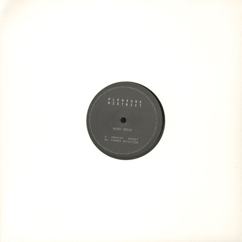 Heart Drive (dBridge & Kid Drama) - Empathy Reboot 12""
