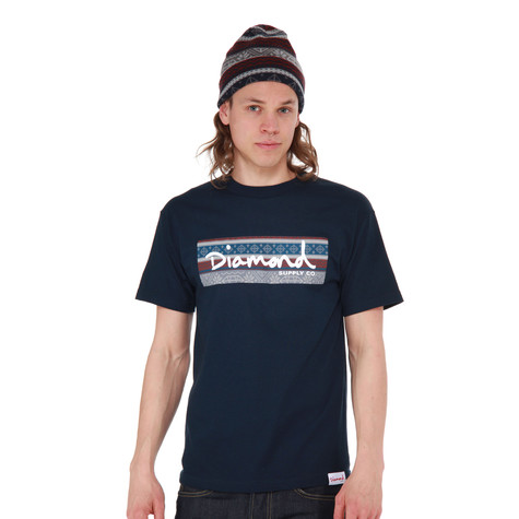 Diamond Supply Co. - Fairisle Box Logo T-Shirt
