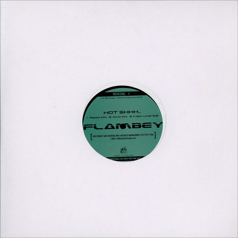 Flambey - Hot Shhh... / Now Or Never