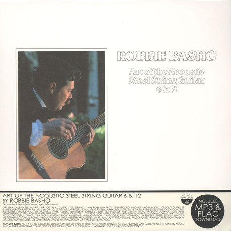 Robbie Basho - Art Of the Acoustic Steel String Guita 6 & 12