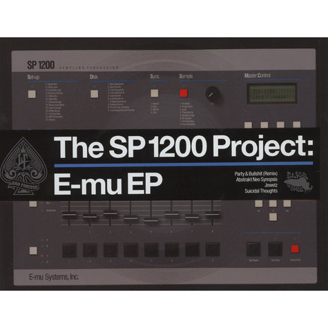 Lord Finesse - The SP1200 Project: E-mu EP Die-Cut Picture Disc