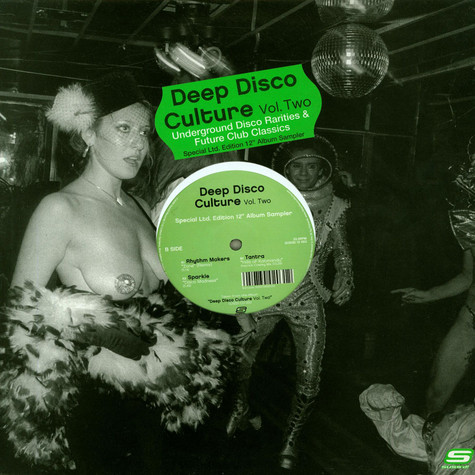 V.A. - Deep Disco Culture Vol. Two (Underground Disco Rarities & Future Club Classics)