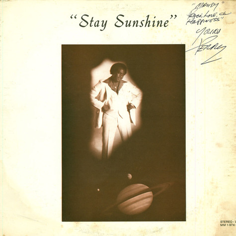 Perry Ma'mon - Stay Sunshine