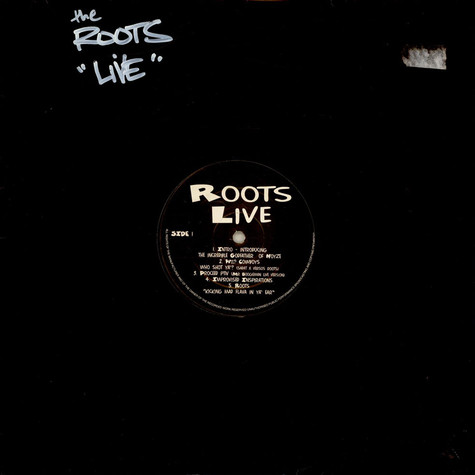 Roots, The - Roots Live