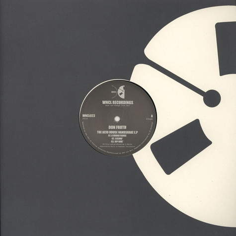 Don Froth - The Acid House Handshake EP
