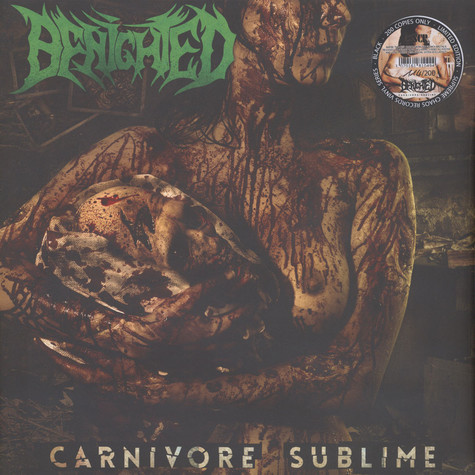 Benighted - Carnivore Sublime Black Vinyl Edition